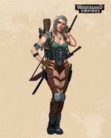 Wasteland Empires: Scout 2 by ArtofTu