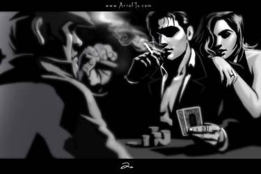 Noir Series: Poker by ArtofTu