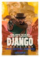 Django Unchained Movie Poster by ArtofTu