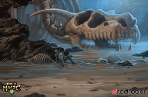 Combat Background, Cave by ArtofTu