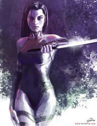X-MEN: Psylocke by ArtofTu