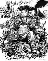 Eagle Warrior by ArtofTu