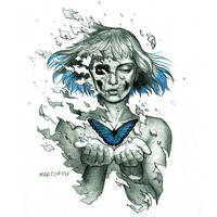 Blue Butterfly by ArtofTu