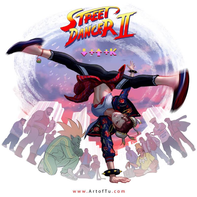 Chun Li the Street Dancer by ArtofTu
