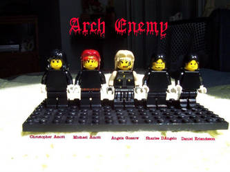 Arch Enemy Band by gameshalo70