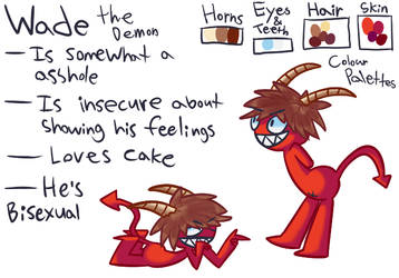 Wade The Demon by Popsolan
