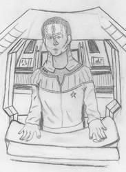 Starfleet Cardassian by WarpFactor5