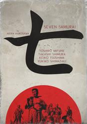 Seven Samurai by crilleb50