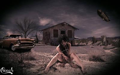 Crazy in desert by DocSchneidi