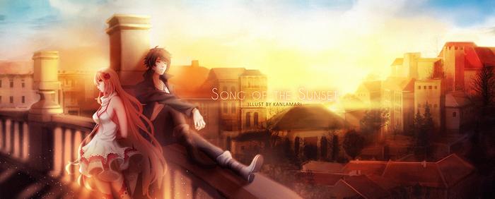CM   Song of the Sunset by Kanlamari