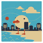 Bay Gull by Shoji-Ikari