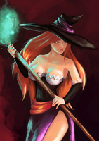 Sorceress by Argeve