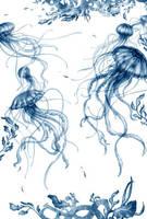 Jellyfish - Bookmark by typesprite