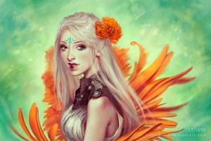 Miss Flowergarden by typesprite
