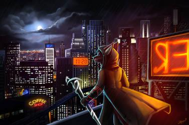Nightwatcher by wolfgun0