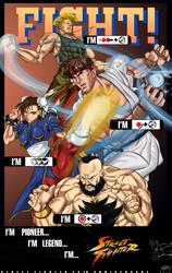 Street Fighter 25th by JonathanBN