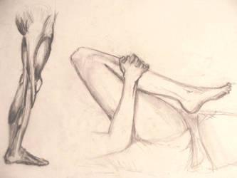 Legs - study by JohnnyCopperboots