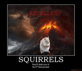 squirrels by tehsuperscheez