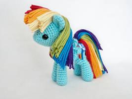 rainbow dash miniplush by MasterPlanner