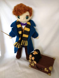 Newt Scamander for healthiersenorita by MasterPlanner