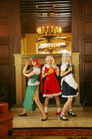-TP- Remilia's Angels by sakusakus