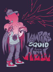 Vampire Squid from HELL by monstrbox