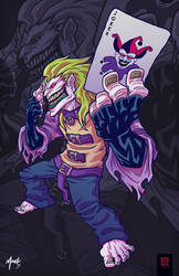 The Batman's Joker by monstrbox