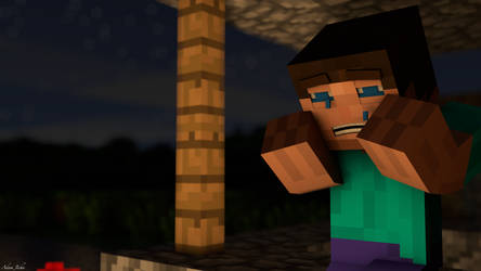 Sad Steve by adenas599