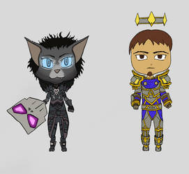 Wow Chibis by Driftingwood