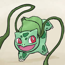 Bulbasaur by Driftingwood