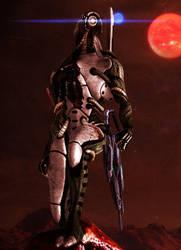 Legion (Mass Effect) by kasushka