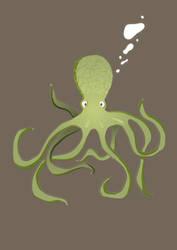 Octo-teeshirt by backy59