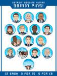 Detroit: Become Human Badges by ParaParano