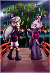 Silvaze week day 3: Tanabata by Cometshina