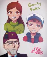 Sketch329456 Gravity Falls Fan-Art #1 by Gubnub