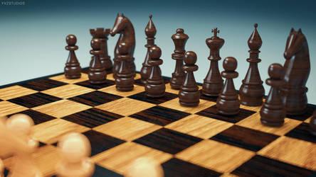 Chess in 4K by Gubnub