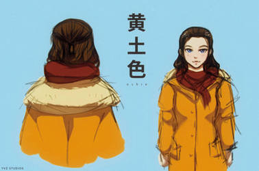 Ochre // Coat by Gubnub