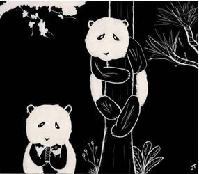 Pandas by 99GummyBears