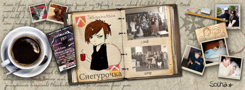 Facebook cover by itildine