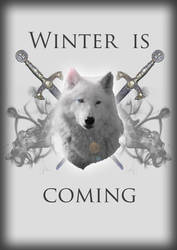 Winter is coming poster by itildine