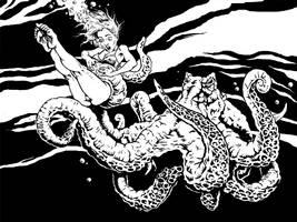 Monster Octopus by Wicked-Scott