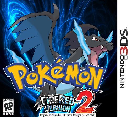 pokemon fire red nintendo 3ds