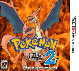 pokemon fire red 3ds