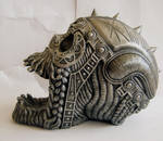 Metal Skull II by StarSlateStock
