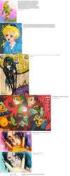 old drawings_part 12 Zelda - 2 by MajorasMasks
