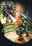 Zelda OoT - Link VS Phantom Ganon by MajorasMasks