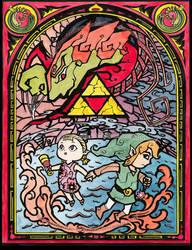 The Legend of Zelda: The Wind Waker   GIFTART by MajorasMasks
