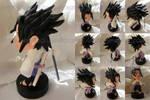 Sasuke figure   COMMISSION by MajorasMasks