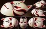 Custom Kakashi's ANBU mask (base v.)   COMMISSION by MajorasMasks