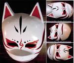Custom Kakashi ANBU mask (alter. v.1)   COMMISSION by MajorasMasks